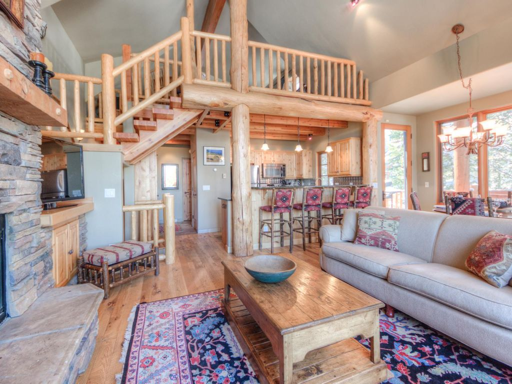 Awesome Property Image#6 Gorgeous Mountain Home With Direct Ski In Ski Out Access