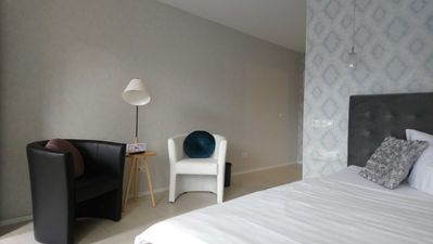 "Photo for Double room barrier-free - Motel ""Zur Goldenen Krone"""