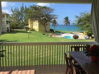 Photo for Tranquil seaside holiday apartment near Ocho Rios