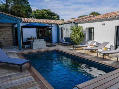 Photo for BEAUTIFUL VILLA, 7 PERS, HEATED SWIMMING POOL