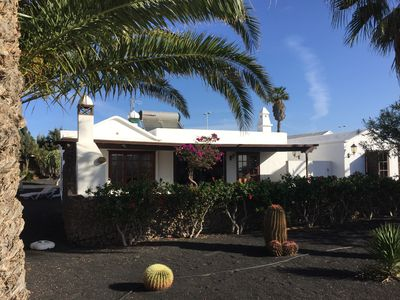 Photo for 5 Mins Walk to Centre & Beach 12m Pool Tennis Detached Private Playa Blanca