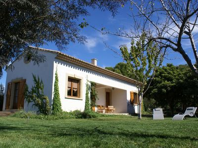 Photo for Holiday rental Pézenas: a house in a large garden. For two.
