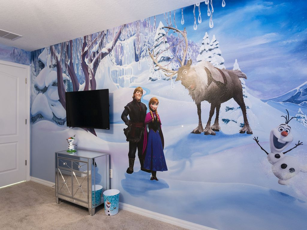 Harry Potter Frozen Home 4bd 3ba Themed