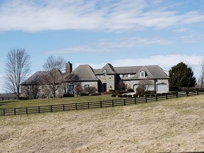 Photo for Luxury Chateau on beautiful farm in bluegrass state.