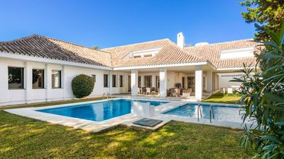 Photo for Superb Villa 5 On The Beach in Puerto Banus, Marbella