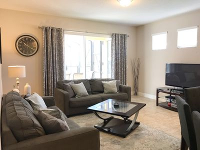 Photo for Solterra Resort | South Facing Pool & Hot Tub/ Spa, Two Master Suites, Steps From Resort Amenities, 8 Miles to Disney, Resort Amenities Included!