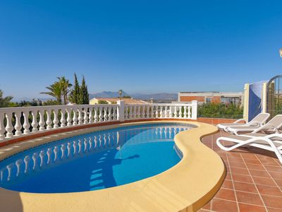 Photo for Lush Villa with Swimming Pool in Benitachell