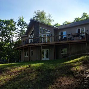 Photo for Luxury Waterfront Muskoka Cottage on Fox Lake in Huntsville