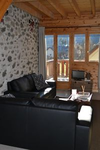 Photo for Middle Barn A cosy two bedroomed gite at Ferme Noemie in Bourg d'Oisans.