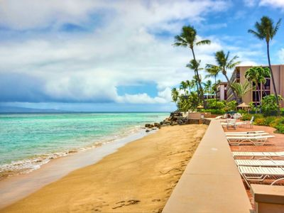 Photo for Hear the Ocean Waves from your Room + Sandy Beachfront - Upgraded Makani Sands Ocean Front!