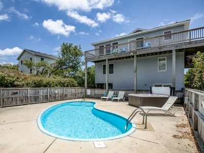 Photo for Carpe Duckem | 1393 ft from the beach | Private Pool, Hot Tub