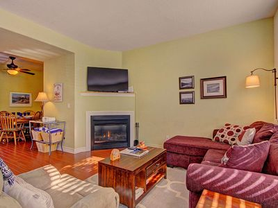 Photo for 2-Level Townhome Near Rec Center, Private Hot Tub, Shuttle/Walk to Town