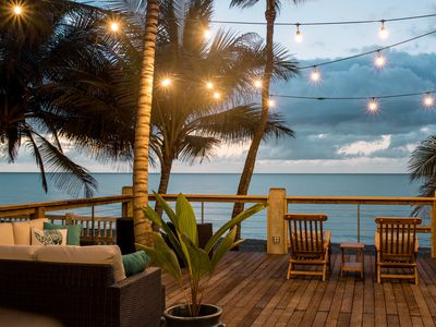 "Photo for ★ Apr 27-Nov 15 Discounted ★ Beachfront on the Famous & Stunning ""Sandy Beach."""