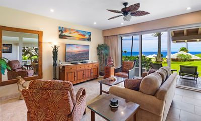 Photo for STEEP May $ REDUCTION~ NICE UPGRADED OCEAN FRONT VILLA ~ PLATINUM MAUI VACATIONS