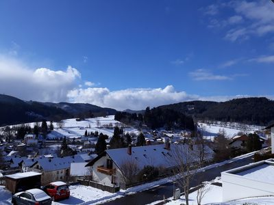 Photo for 1a - Lenzkirch - sunny apartment with balcony and panoramic views with Wi-Fi