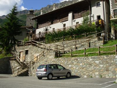 Photo for Apartment in a typical mountain building in the Park of Gran Paradiso