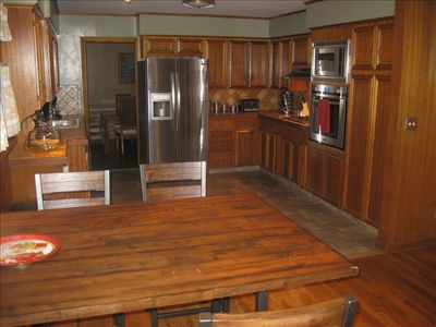 Kitchen and breakfast nook which is part of family room.