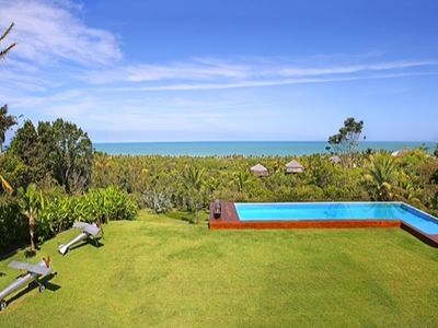 Photo for Bah014 - Cosy vilal with sea view and huge pool