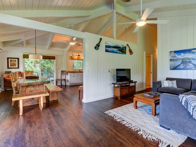Photo for Hanalei Dream House- 5 bikes included, new upgrades! Under new Ownership!