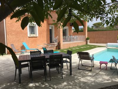 Photo for House with heated pool and Poolhouse in Isle sur La Sorgue - 6 people