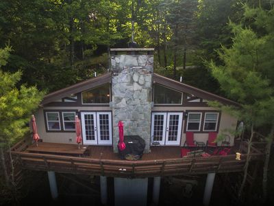 Photo for Beech to Beach Chalet: 3BR 2BA, New throughout, 1 Mi to Slopes
