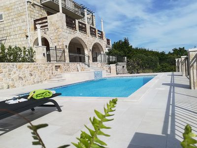 Photo for Villa Lucija,  Dubrovnik riviera new listing, pool and jacuzzi