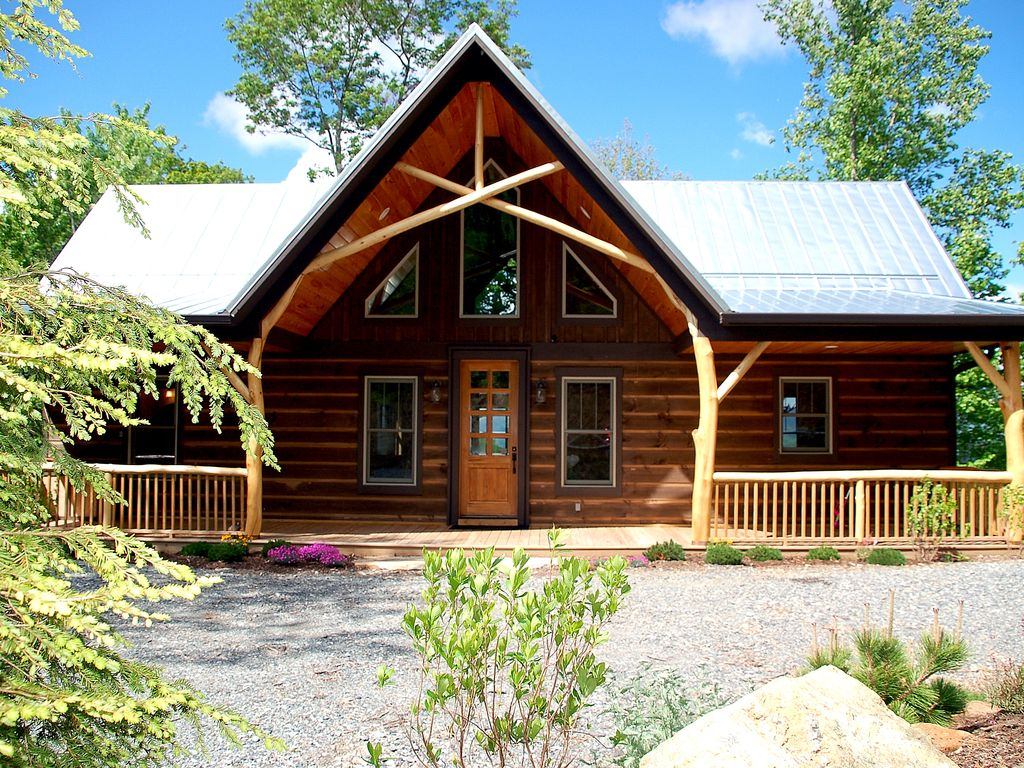 cabin banner house cabins nest lodges pin rentals rental usa eagles elk at in nc vacation