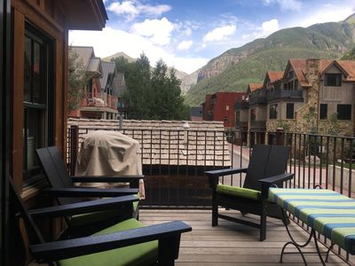 Photo for Unique Telluride carriage house with private deck & stunning views