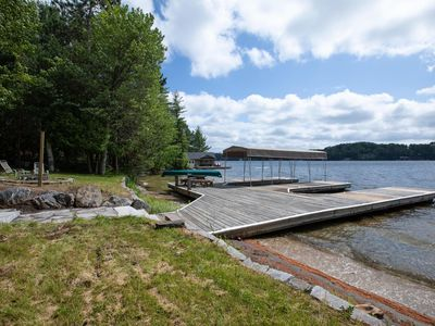 Photo for Blissful Sands A Fabulously newly renovated cottage on Lake Joseph!