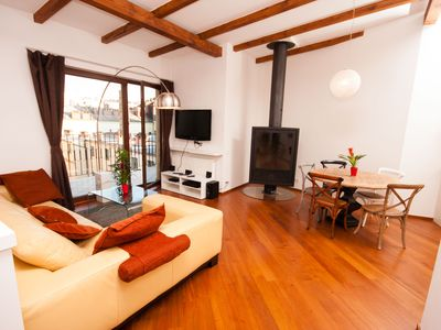 Photo for Luxury Loft 2BR,  2BA Penthouse Apartment with Terrace in Prague Old Town