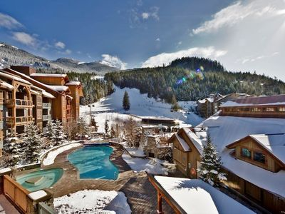Photo for Elegant Suite + Slopeside Access | Your Whistler Retreat