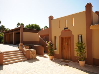 Photo for UNIQUE LUXURY GATED VILLA,Private TENNIS-COURT,Aircon,4Bedroom, POOL,GARDENS!