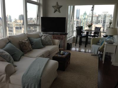 Photo for Beautiful Penthouse Condo in Yaletown, w/ Ocean and Mountain Views!