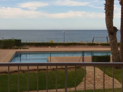 Photo for SUMMER RENTAL FIRST LINE APARTMENT OF PLAYA DE ARENA