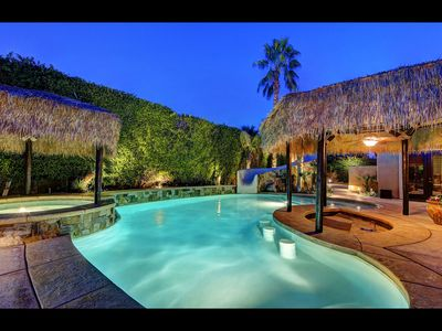 Photo for 'Vista Escondido' 6BR/5.5BA, Palapa, Waterslide, Walk to Coachella, Sleeps 14