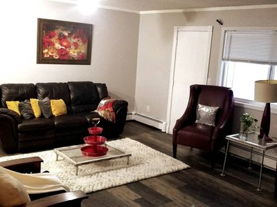 Photo for Spacious Flat with Cozy Environment/sleeps 6