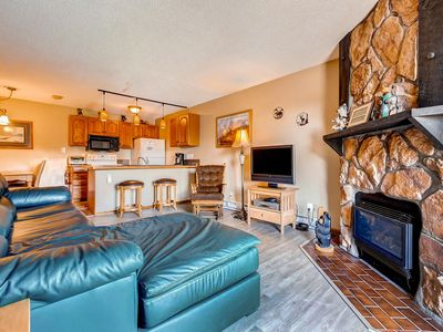 Photo for Lovely Upgraded Mountain Cabin Steps Away From Ski Area Trails/Activities/Events