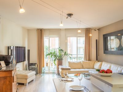 Photo for Hof Nordic - Bright and beautiful apartment near the beach in central Cannes