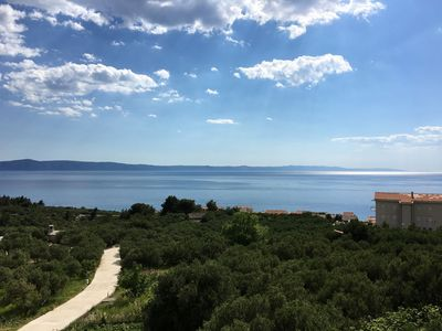 Photo for Apartment Antisa  A1 jug(4+1)  - Tucepi, Riviera Makarska, Croatia