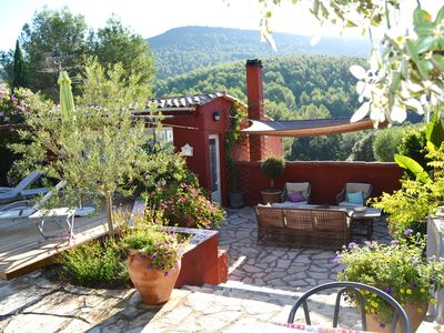 Photo for Mas Provençal, private heated pool, spa, absolute calm