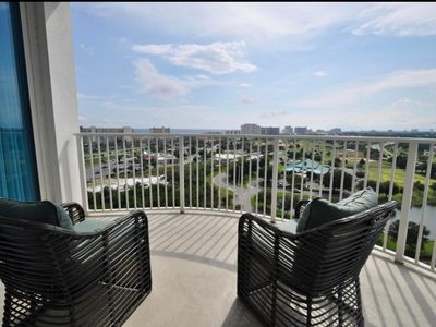Photo for Top Floor Luxury Penthouse Condo with Ocean and Bay View