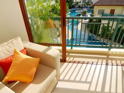 Photo for Wonderfully relaxing apartment in Phuket for longer stays.