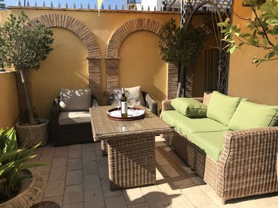 Photo for Typical Andalusian house with terrace of 80m² with views of the historic center