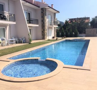 Photo for Apartment Nur, View of Kaunos Tombs, large pool/childrens pool.