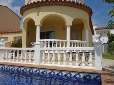Photo for Villa with private pool for 7persons, 4000m from the beach, private pool
