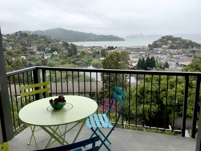 Photo for Stunning SF Views From Cozy 1-Bedroom Pied-A-Terre