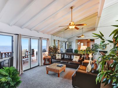 Photo for Villa with Stunning Ocean Views, No Steps + 2 Private Balconies - Hamilton Cove