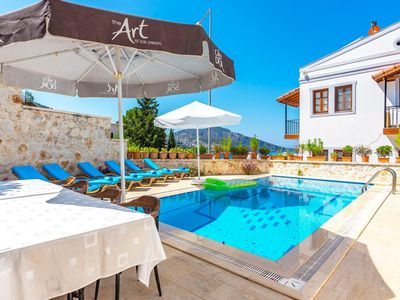 It is located in the heart of Kalkan