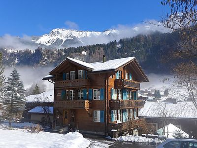 Photo for One bedroom Apartment, sleeps 4 in Lauterbrunnen with WiFi