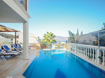 Photo for Occupying a prime location, just a few minutes walk from a beach and a short drive to the pretty town of Kalkan - which offers an array of local restaurants and tavernas to enjoy - this delightful villa has all the ingredients for a great holiday.